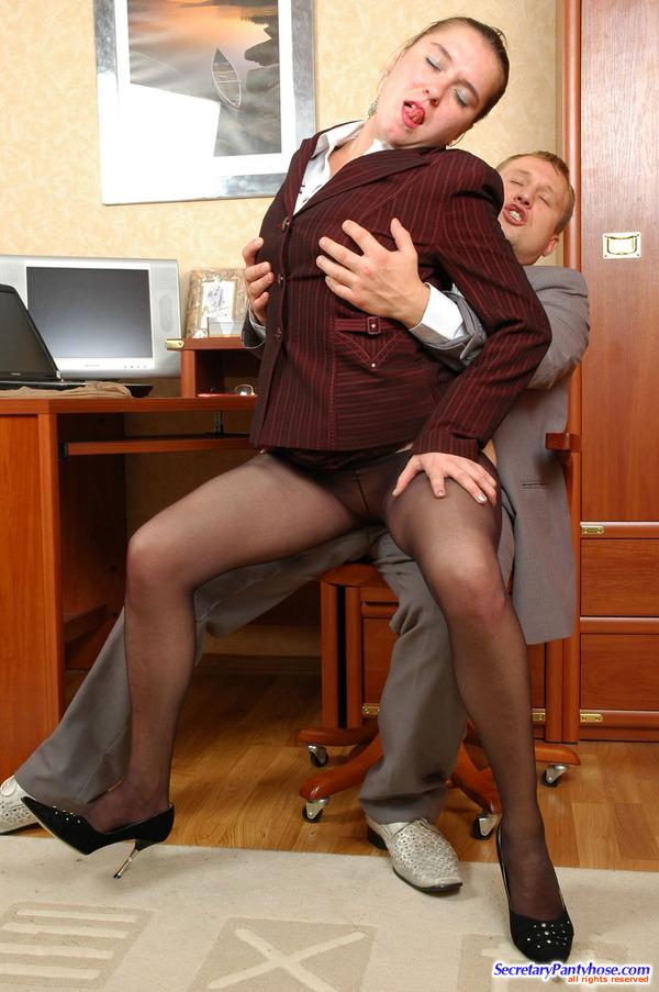 Secretary Pantyhose Free Porn