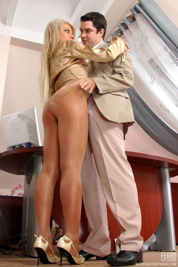 Office Pantyhose Sex