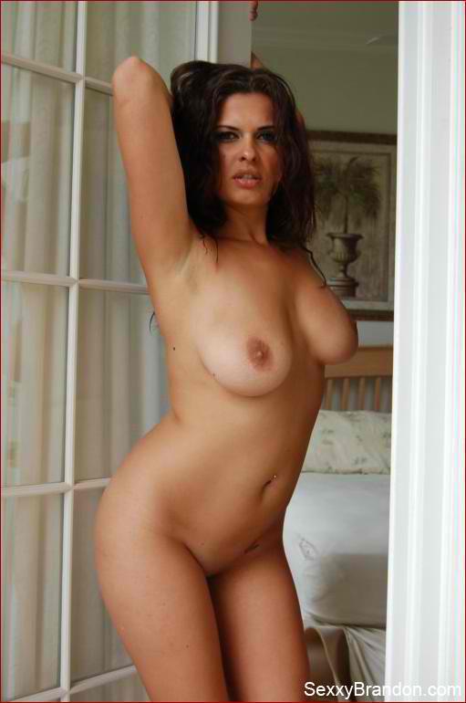 nude european girl in pajamas