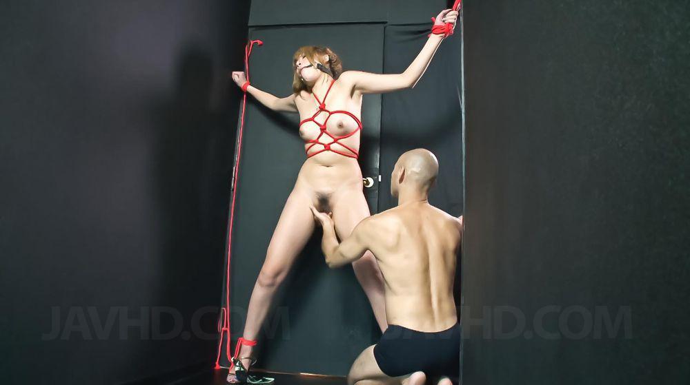 Hatsuka kobayashi tied up and teased 5
