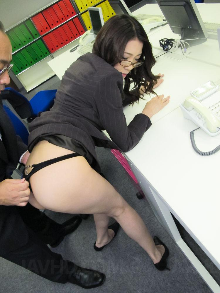 Miriya hazuki sexy asian candy striper finger 7