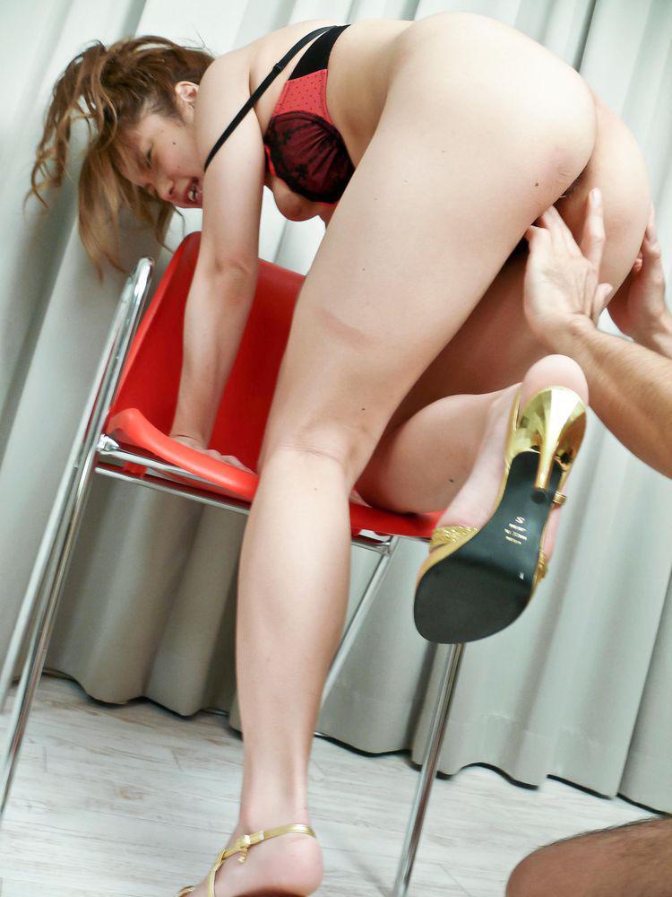 Tsubasa tamaki hot fucking in her high heels 7