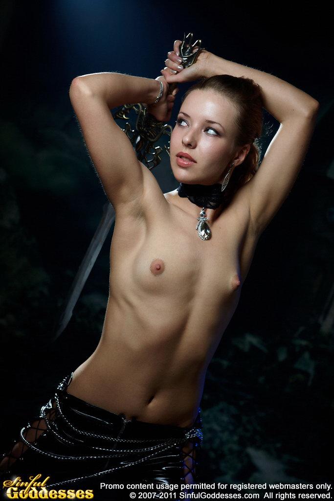 Sinful Goddesses Beauties Naked Art