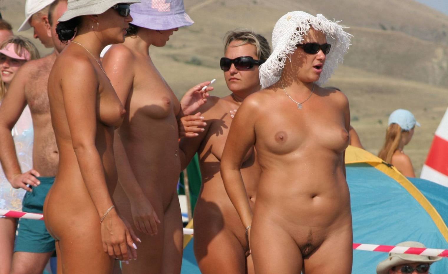 Naked beach's ayesha perry