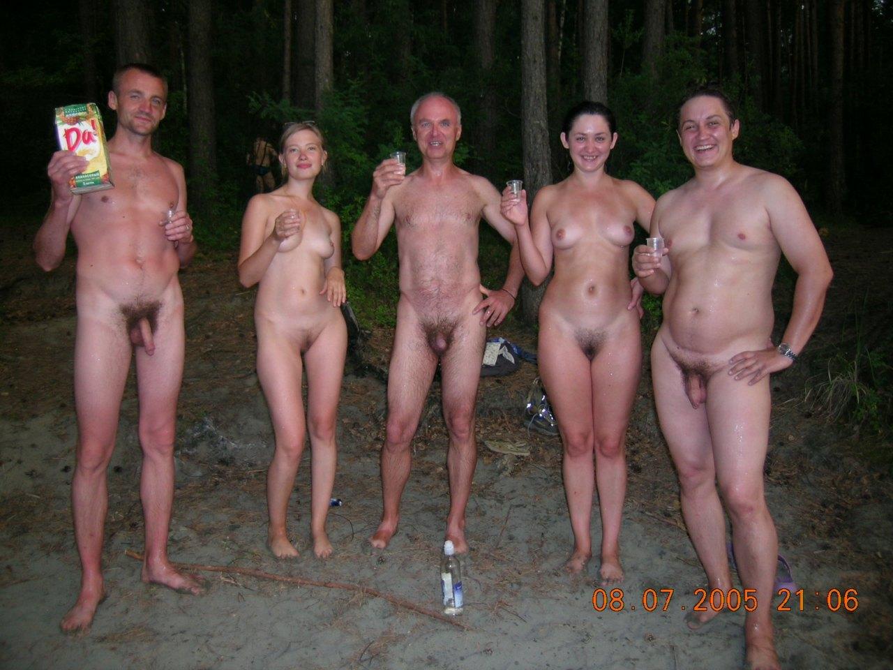 Супруги отдыхают голые 7 фотография