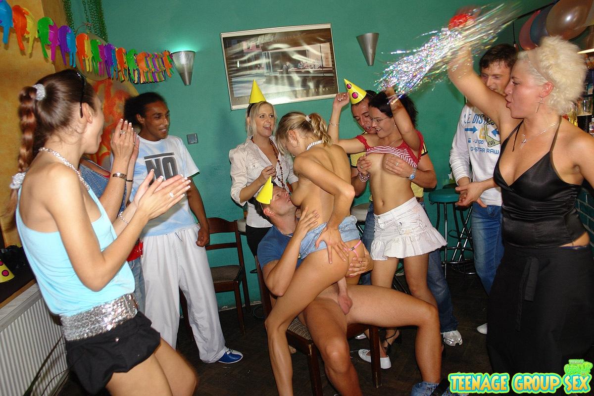 teens sex at party