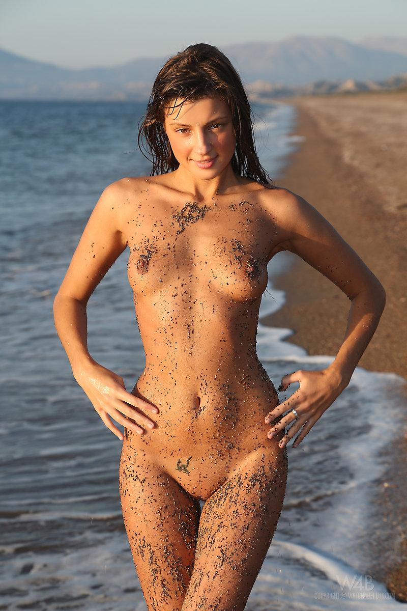 Nude sex on the beach