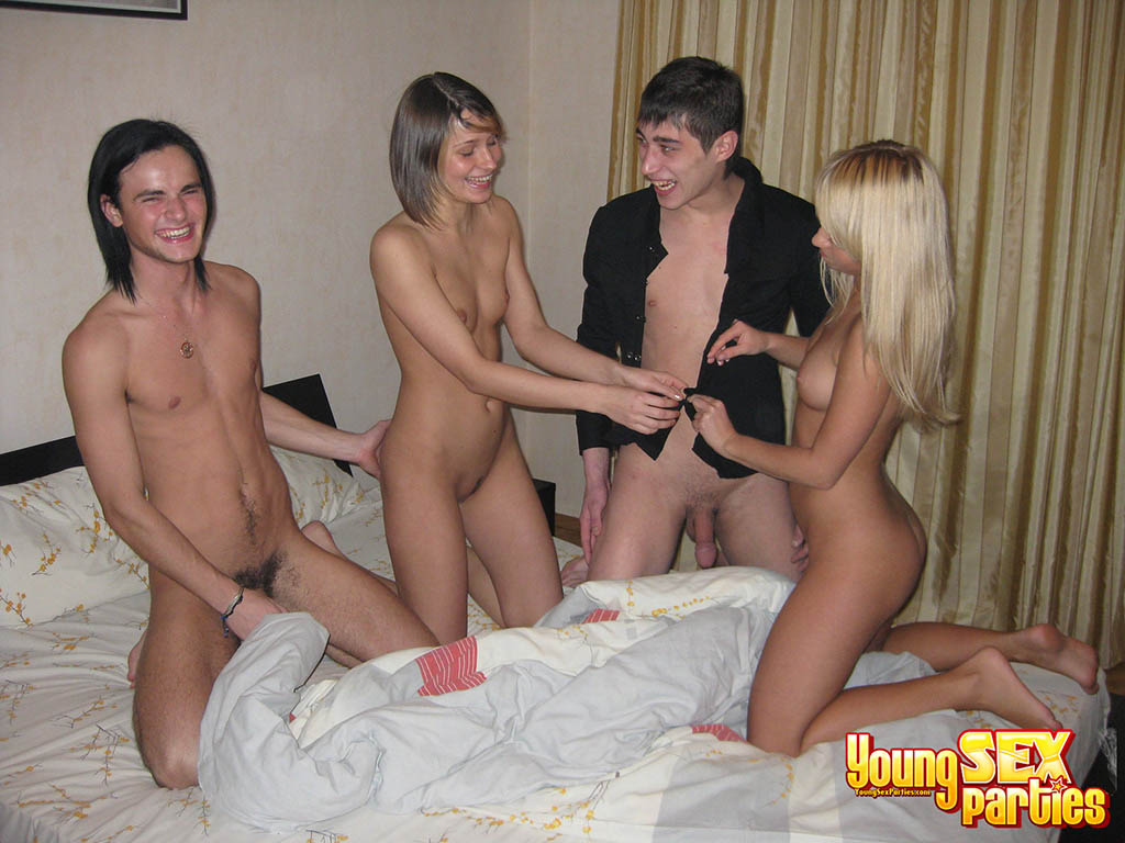 Luscious Guys Fucking In Group