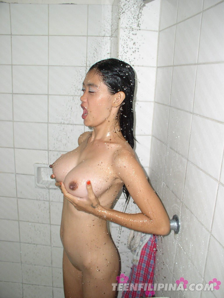 pinay wife nude shower