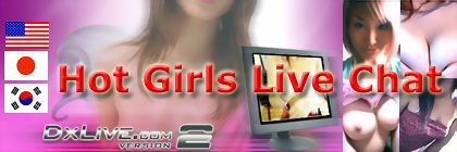 DXLIVE.com DX Live is a chat site which distributes live images using the latest technology. Many beautiful girls are waiting for you beyond the screen. Since the talk progresses in real time. there may be surprising, unexpected happenings or a delightful present from girls, etc. Girls are categorised by several genres, so please try to make them happy while you are chatting.
