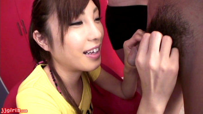 image Adorable kana miura on her knees being skull fucked