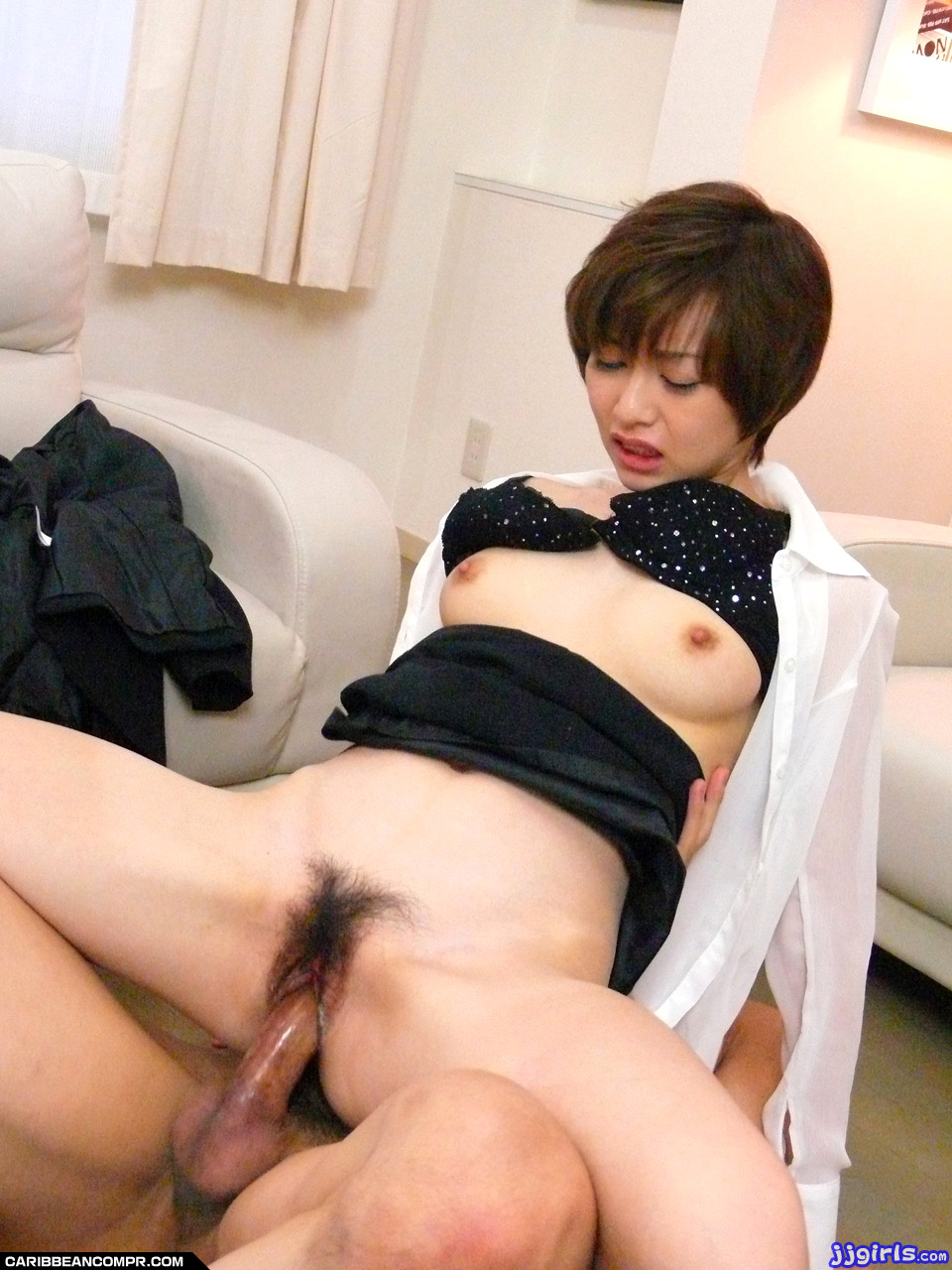 Akina hara gets two men to fuck her hard 10
