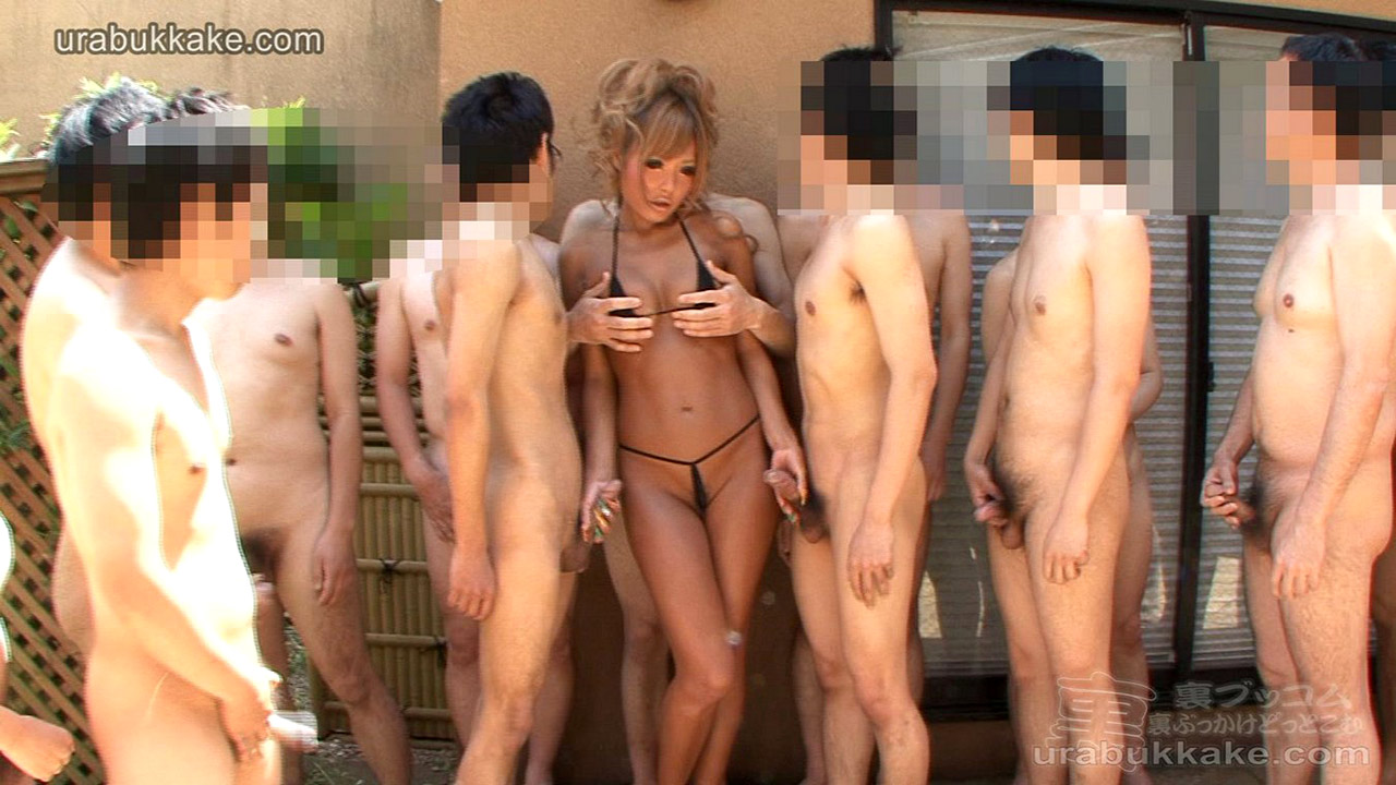 guys by surrounded naked asian girls